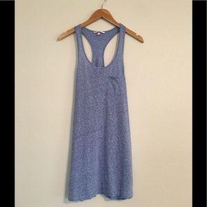 Victoria Secret Blue Racerback Tank Pajama Dress